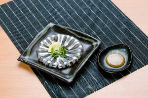 きびなご 刺身(自家製酢味噌付き)