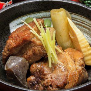 黒豚豚骨の味噌煮